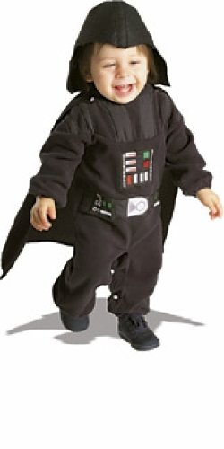 Star Wars Darth Vader Romper Costume, 6 - 12 (Darth Vader Costume Changes)