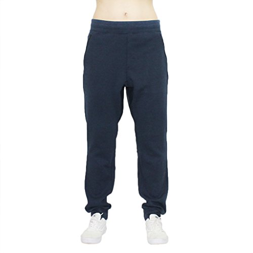 s Pocket Zipper Tapered Biker Front Sweatpants Joggers Harem Drop Crotch ()