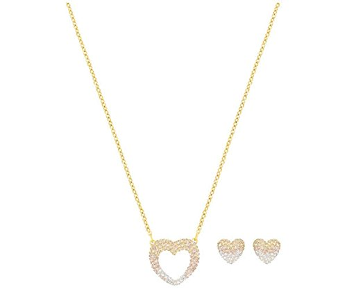 Swarovski Enjoy Pointillage Set - Gold tone - 5273147 by Swarovski