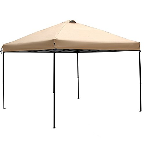 Abba Patio Replacement Top Cover for 10 x 10-Feet Outdoor Instant Folding Canopy, Tan(FRAME not Include) by Abba Patio