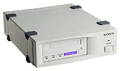 Sony SDT-D7000/PB 4/8 GB Capacity DDS-2 External Tape Drive (SCSI) with Veritas Backup Exec Desktop Solution from Sony