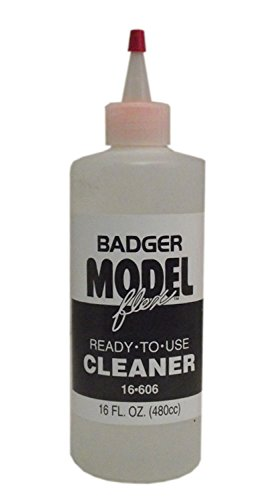 Badger Modelflex Railroad Airbrush Paint Cleaner