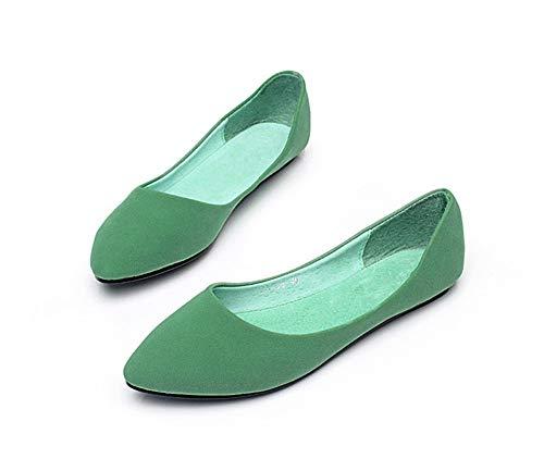 scarpe E da scarpe semplice Bocca donne basse lavoro scarpe delle confortevole incinte singole moda scarpe bassa FLYRCX donne qP76Txw
