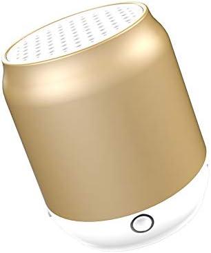 BluetoothスピーカーワイヤレスBluetooth 4.1スピーカー高品位サウンドと大胆な低音ハンズフリー6時間の再生時間 (色 : 金色)