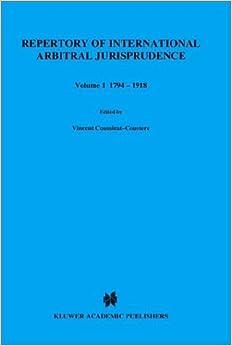 Libros Para Descargar En Repertory Of International Arbitral Jurisprudence: 1794-1981 V. 1 Kindle Lee Epub