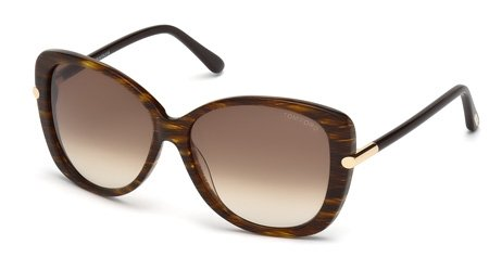 Tom Ford Womens Women's Linda 59Mm Sunglasses (Ford Linda Tom)