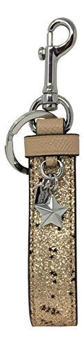 Coach Star Glitter Loop Bag Charm Gold F39531