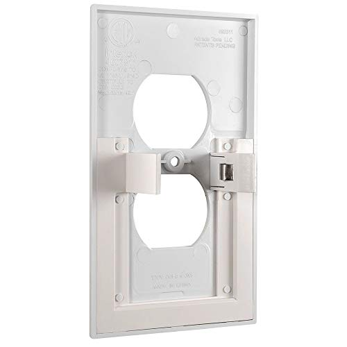 Plus Mi Life Powerglow Wall Outlet Coverplate w/LED Night Lights (Auto on/off)