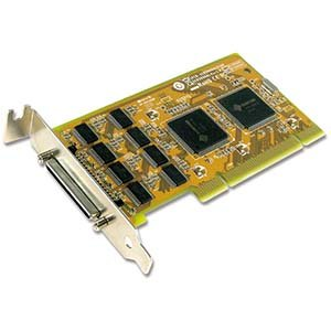 Sunix 8 Port RS-232 Universal Low-Profile PCI Serial Card