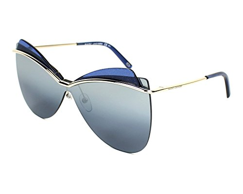 Marc Jacobs Marc 130/S 3YG (Silver with Blue with Silver mirror effect lenses)