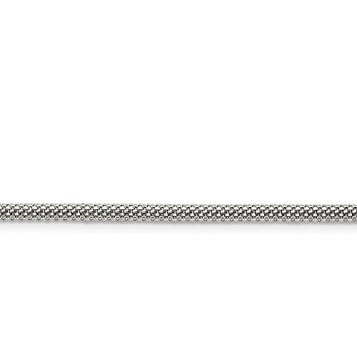 Bismark Necklace Designer - ICE CARATS Stainless Steel 3.2mm 30in Link Bismark Chain Necklace 30 Inch Pendant Charm Mesh Popcorn Fashion Jewelry Gifts for Women for Her