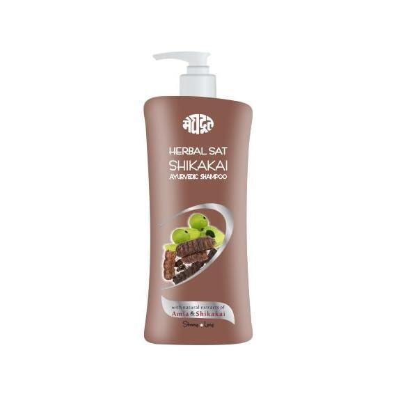 Meghdoot Herbal Sunscreen lotion 500ml x 1pc + Herbal Shikakai shampoo for Hair Growth 500ml x 1