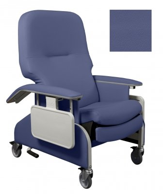 FR566DG454 Deluxe Clinical Recliner with Drop Arms Meets California Technical Bulletin 133, 1EA