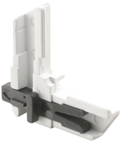 Prime-Line Products PL 8096 Screen Frame Corner, Slide Lock, White Plastic,(Pack of 4) (Corner Screen Lock)