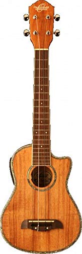 Oscar Schmidt by Washburn OU5LCE Long Neck Concert Acoustic-Electric Ukulele