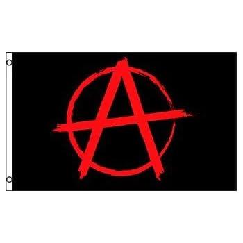 amazon com anarchy flag outdoor flags garden outdoor