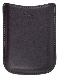 Blackberry 8520 Pocket (RIM Synthetic Pocket for 8530, 8520 and 900 - 1 Pack - Retail Packaging - Black)