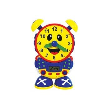 Amazon.com: The Teaching Time Clock (Telly): Toys & Games