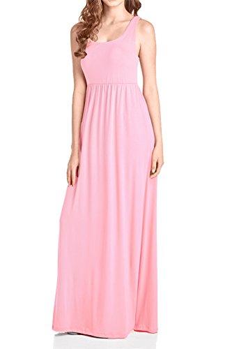 Pink Maxi Beachcoco Tank Dress Women's Blush Xqw7ARwBW