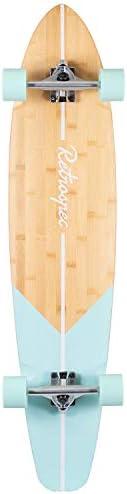 Retrospec Zed Longboard Pintail Bamboo Long Board