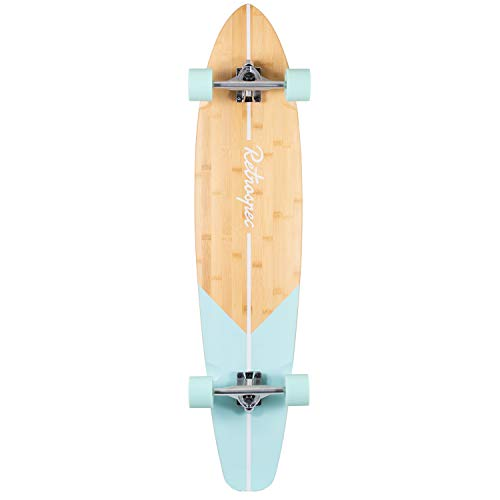 Retrospec Zed Bamboo Longboard Skateboard Complete Cruiser (Best Longboards Under 100)