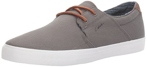 C1RCA Mens Alto Low Durable Lightweight Insole Skate Shoe Charcoal/White