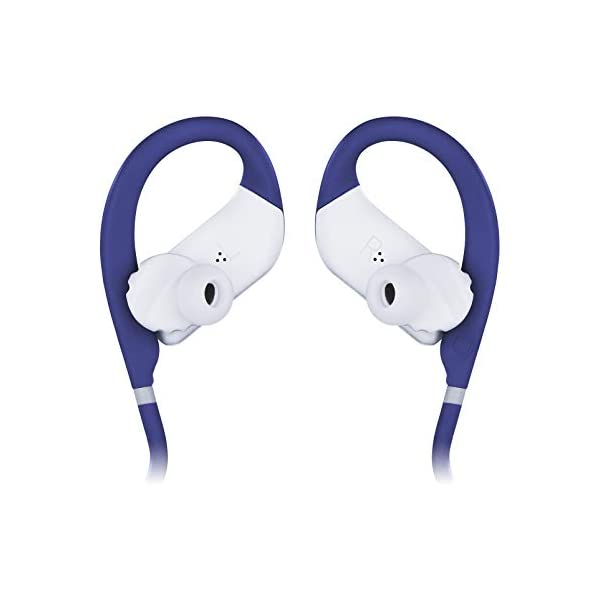 JBL Endurance Jump by Harman Waterproof Wireless Sport in-Ear Headphones with One-Touch Remote (Blue) 2021 August JBL Signature Sound Wireless Bluetooth Streaming 8 Hours of Playtime under optimum audio settings