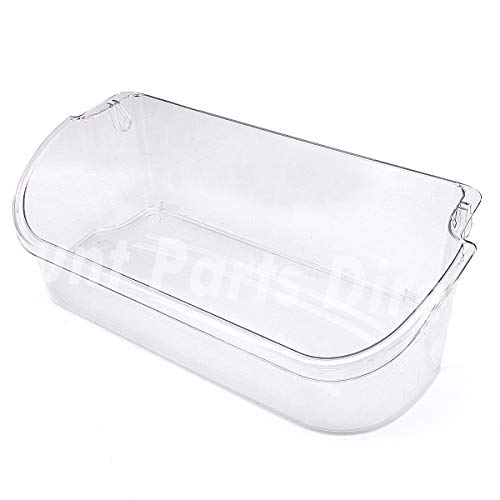 Price comparison product image 240356402 Clear Refrigerator Door Bin Side Shelf for Electrolux and Frigidaire,  Upper Slot Replacement Shelf,  Gallon Size - Replaces AP2549958,  240430312,  240356416,  240356407,  and more