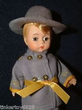 Madame Alexander Ashley #633 Confederate Soldier 8 inch Doll