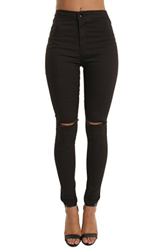 Skinny Black Waisted Ripped White Portobello Punk Black Shades Wine High of Jeans in Blue Camouflage q0FT0tZHnp