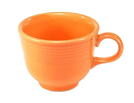 5eb859e6b0a Amazon.com | Fiesta 7-3/4-Ounce Cup, Tangerine: Coffee Cups: Coffee ...