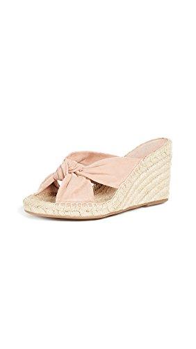 Splendid Women's Bautista Wedge Sandal, Dark Blush, 7 Medium US