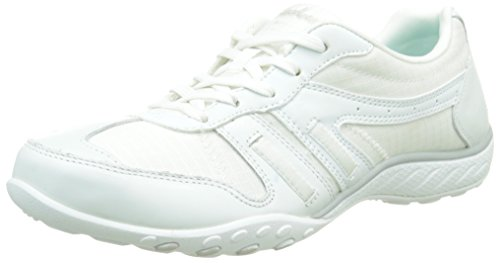Sneaker Breathe Jackpot Fashion White Skechers Women's Easy Sport xaPqqY8w
