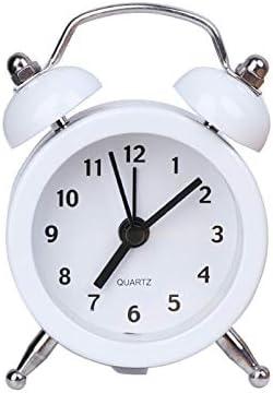 dongzhifeng Relojes de Alarma Mesilla de Noche Sin tictac Relojes ...