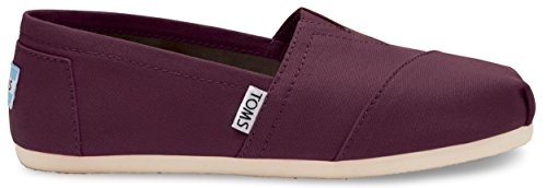 TOMS Women's Classic Canvas Slip-on (12 B(M) US / 42-43 EUR, Red ()