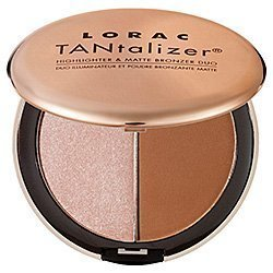 LORAC TANtalizerTM Highlighter & Matte Bronzer Duo Color TANtalizer Highlighter & Matte Bronzer Duo-shimmering champagne/ matte deep tan (Quantity of 1) … FARSÁLI