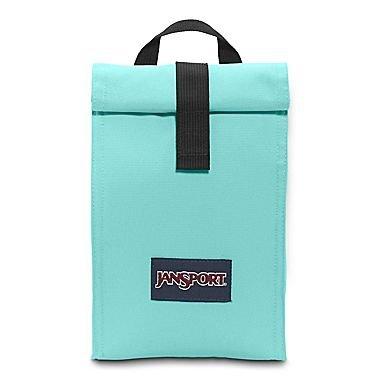 JanSport Rolltop Lunch Bag Aqua Dash - Aqua Lunch Bag