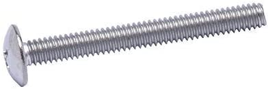 25pc 304 18-8 by Bolt Dropper Stainless Steel 1//4-20 X 2 Stainless Phillips Truss Head Machine Screw, Coarse Thread