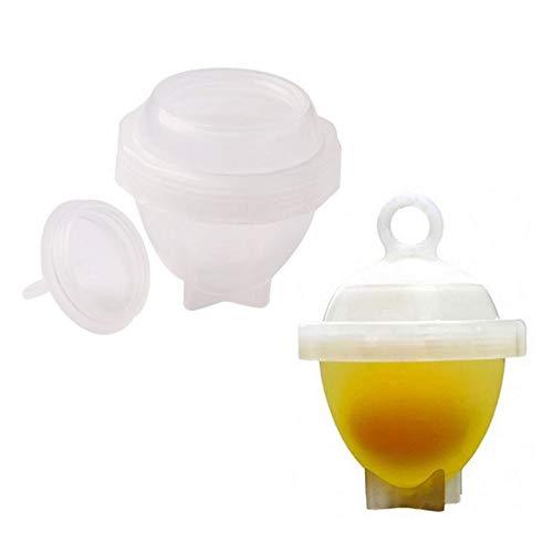 7PCS/Set Egg Cooker Egg Yolk Separator Egg Steamer Cooking Utensils Cooking Tool Boiled Egg Apparatus