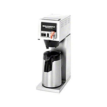 (Bloomfield 8773AF Integrity Automatic Airpot Brewer, Pour-Over Option, Faucet, Stainless Steel, 17 1/4