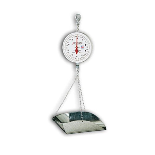 (Detecto MCS-40P Hanging Dial Scale, 40 lb. Capacity,)