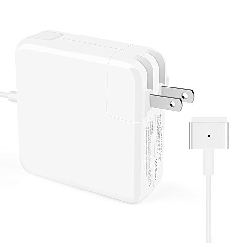 Iseason MacBook Pro Charger,MacBook Air Charger Replacement 60W Magsafe 2 Magnetic T-Tip Power Adapter Charger for Apple Mac Book Pro 13 inch / 15 inch / 17 inch-After Late 2012