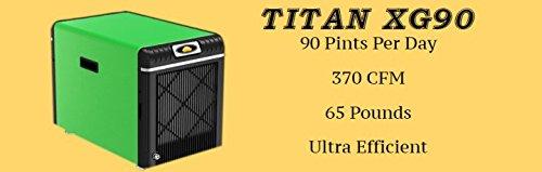 Horizon - Titan XG90 - Crawl Space Dehumidifier - 90 Pints Per Day - 370 CFM