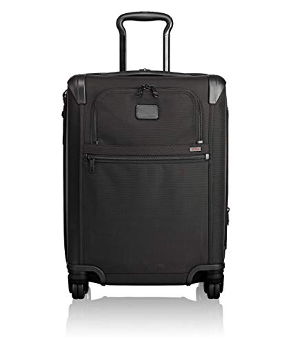 Ballistic Tote Laptop (TUMI - Alpha 2 Continental Expandable 4 Wheeled Carry-On Luggage - 22 Inch Rolling Suitcase for Men and Women - Black)