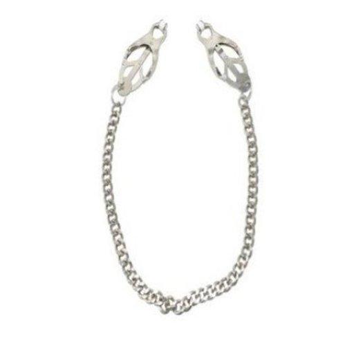 EUBUY® métal Fantacy Pinces tétons papillon réglable Sm Clit du sein Chambre de retenue Pinces clip avec la chaîne