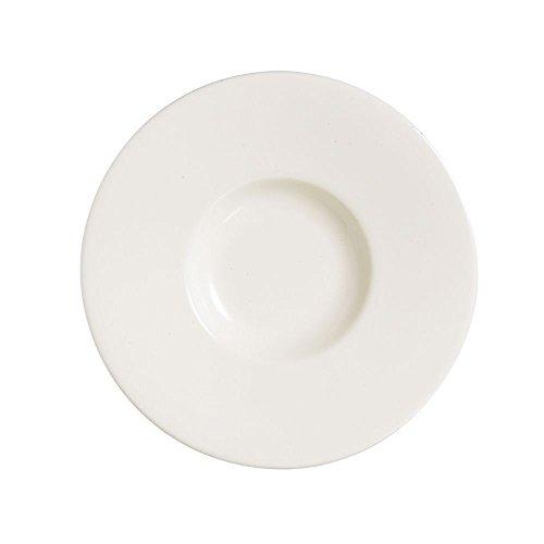 Chefs White Ramekins (Chef & Sommelier S1110 Moon 12-1/8 In Presentation Plate - 12 / CS)