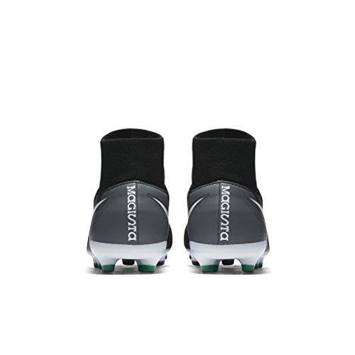 Nike JR MAGISTA ONDA II DF FG BLACK/WHITE-COOL GREY-STADIUM