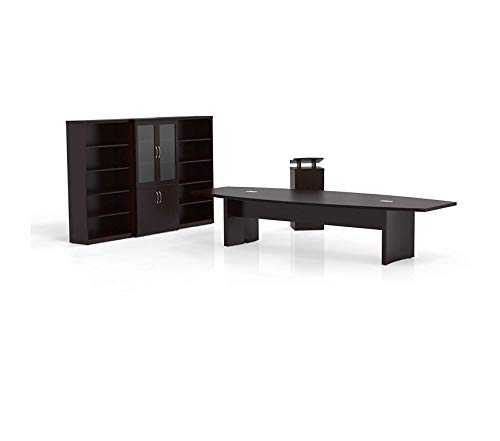 Wood & Style Furniture Conference Desk Premium Office Home Durable Strong