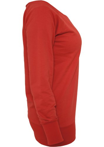 Sweat TB607 pour femme Urban Classics - 38, rouge