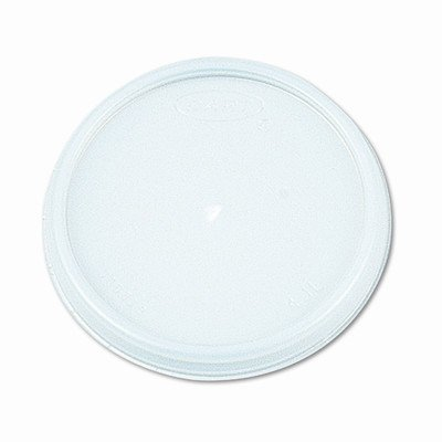 Plastic Lids, for 8 oz. Hot/Cold Foam Cups, Vented, 100 Lids/Bg, 1,000 Lids/CT